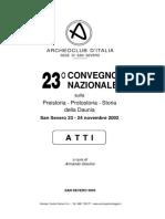 Copat et alii 2003_Vasi funerari Modelli ceramici nelle sepolture dell'Età del Bronzo nella Puglia settentrionale e nelle aree limitrofe