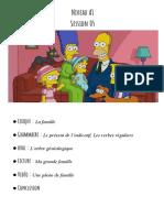A1 S05 La famille