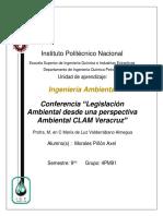 Conferencia_Legislación ambiental desde la perspectiva industrial