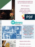 Ideas Para Proyectos (II Encuentro de Ciencias Sociales Félix González Chicote)