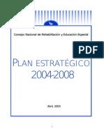 CNREE Plan Estratégico 2004-2008