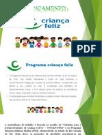 Programa Criança Feliz slides
