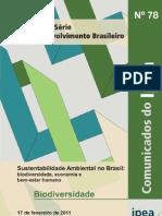 2011 Sustentabilidade Ambiental no Brasil - biodiversidade