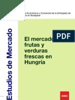 """Estudio de Mercado """"El mercado de frutas y verduras frescas en Hungría"""""""