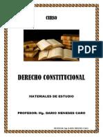 MANUAL DE DERECHO CONSTITUCIONAL 2020