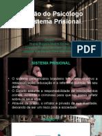 Atuação Do Psicologo No Sistema Prisional
