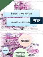 Bahasa Jiwa Bangsa-titas shahril
