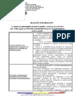buletin informativ 2020 Legea544