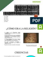 La religión en la civilización mesopotámica-