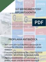 protocolo medicamentoso em implante