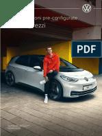 Listino Prezzi Volkswagen ID3 MY21