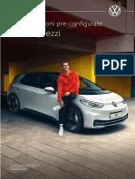 Listino Prezzi Volkswagen ID3 MY22 Versioni Pre Configurate