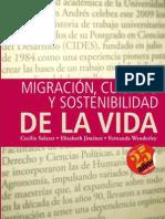 Micraciones, cuidado y sotenibilidad de la vida (Cecilia Salazar, Elizabeth Jiménez, Fernanda Wanderley)