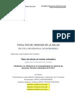 Artículo de Revisión Sistemática Ejemplo Para 2021