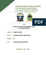 Propuesta Práctica Sostenibles en La Actividad Agrícola