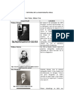HISTORIA DE LA RADOGRAFÍA ORAL