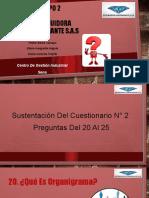 PRESENTACION CUESTIONARIO