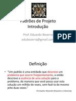 Padroes de Projeto - Introducao