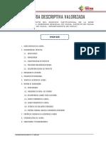 1.1 Memoria Descriptiva Valorizada - jul21