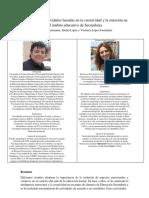 Propuesta de actividades basadas en la creatividad y la emoción en el ámbito educativo de Secundaria Marco Tulio Sánchez Bustamante, Emilia López y Verónica López-Fernández