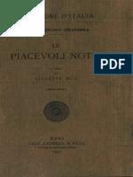 Straparola, Giovanni Francesco – Le Piacevoli Notti, Vol. I, 1927 – BEIC 1930099