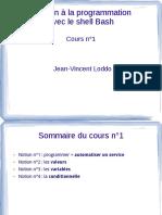 Cours Magistral Initiation Prog 1