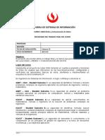 SI640 -Enunciado Del Trabajo Final (2021-2) V2