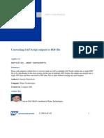 sapscript to pdf
