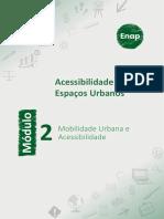 Módulo 2 - Mobilidade Urbana e Acessibilidade