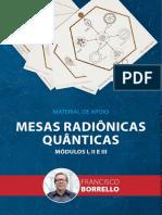 MESAS RADIÔNICAS QUÂNTICAS - AULAS 01 - 03