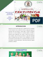 TALLER NORMAS DE CONVIVENCIA