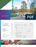 Cronograma de competencias Tokio 2020