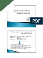Folino, Lescano, Sánchez y León Sistema de justicia juvenil en la provincia de Buenos Aires y Método de Evaluación