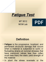 fatigue test