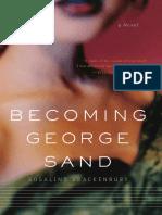 Becoming George Sand By Rosalind Brackenbury Excerpt