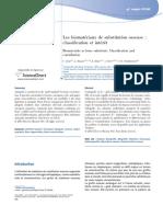 Classification Des Biomatériaux