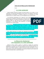 Fundamentos de la Educación Ambiental