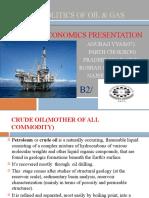 CRUDE OIL & GEOPOLITICS