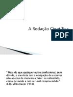 redação científica