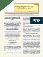 Boletín Jurisprudencial n.º 07 del 30 de agosto de 2021