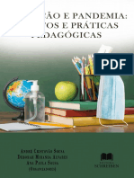 eBook Educação e Pandemia - Relatos e Práticas Pedagógicas
