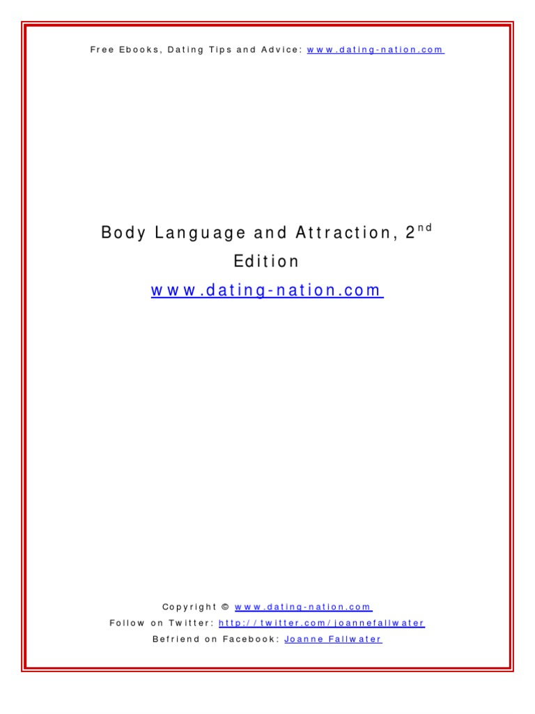 Body Language and Attraction v2 0 | Body Language