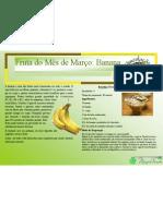Cartaz da Fruta do mês de Março