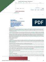 Nociones de la policía administrativa - Monografias.com