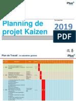 Planning de projet Kaizen