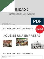 Copia de Unidad Introductoria, ¿Qué Es Una Empresa