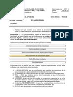 Exam Final - IT-634-M (04!08!21) Solucionario