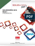 SolidWorks 2019 nível I