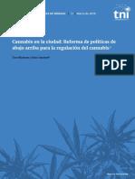 Cannabis en la ciudad- informe de políticas de Drogas 2019.