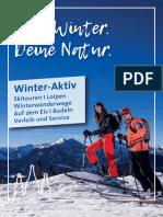 Winter Aktiv Broschüre